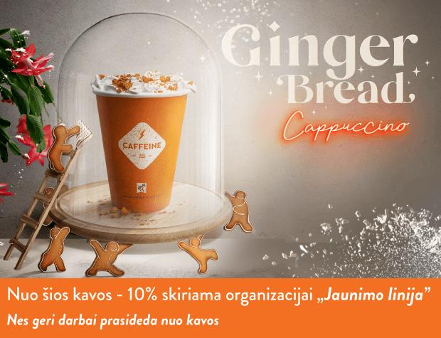 GINGER BREAD CAPPUCCINO